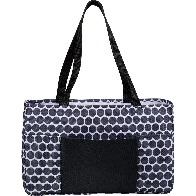 Black Medium Utility Tote Bag