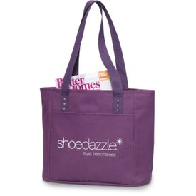 Meribel Reversible Tote with Your Slogan