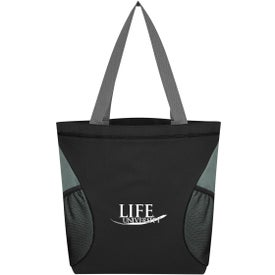 Mesh Accent Tote Bag