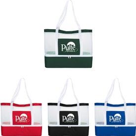 Mesh Outdoor Cooler Tote Bag