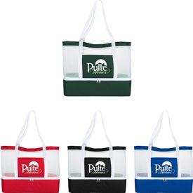 Mesh Outdoor Cooler Tote Bag