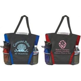 Mesh Pocket Tote Bag for Promotion
