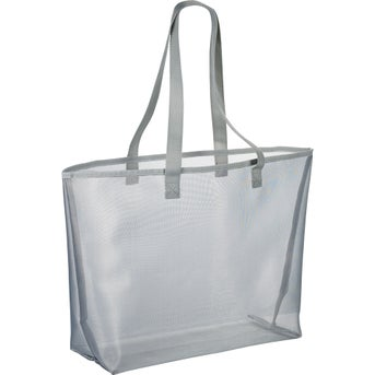 Promotional Mesh Shopper Tote Bags with Custom Logo for $3.51 Ea.