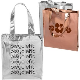 Metallic Gift Tote Bag