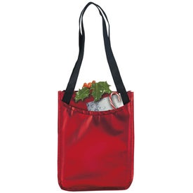 Branded Metallic Non-Woven Gift Tote