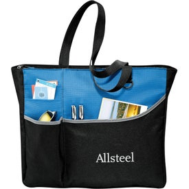 Metropolis Zippered Meeting Tote Bag