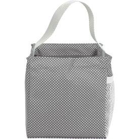 Micro Dot Mini Utility Tote Bag