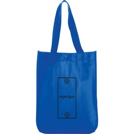 Mini Laminated Non-Woven Shopper Tote Bag