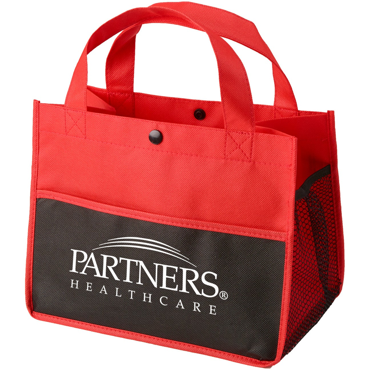 Mini Snap Non-Woven Lunch Tote Bag