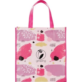 Mod Laminated Shopper Tote Bag