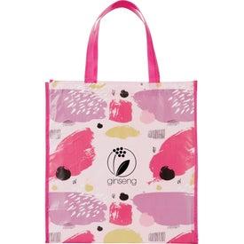 Mod Laminated Shopper Tote Bag