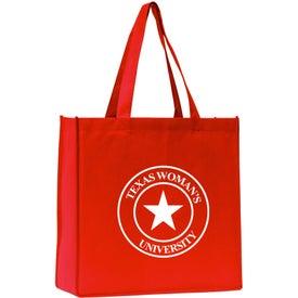 Logo Morgen Polytex Grocery Tote Bag