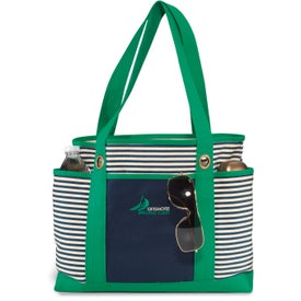 Nantucket Fashion Tote Bag Branded with Your Logo