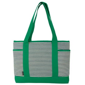 Logo Nantucket Fashion Tote Bag
