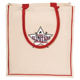Nantucket Tote - 10 Oz. Cotton with Your Logo
