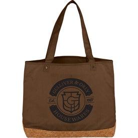 Napa Cotton and Cork Shopper Tote Bag