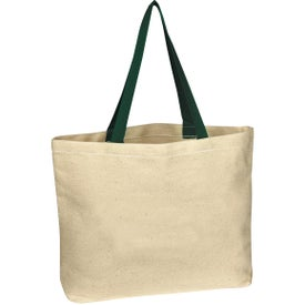 Natural Cotton Canvas Tote Bag for Advertising