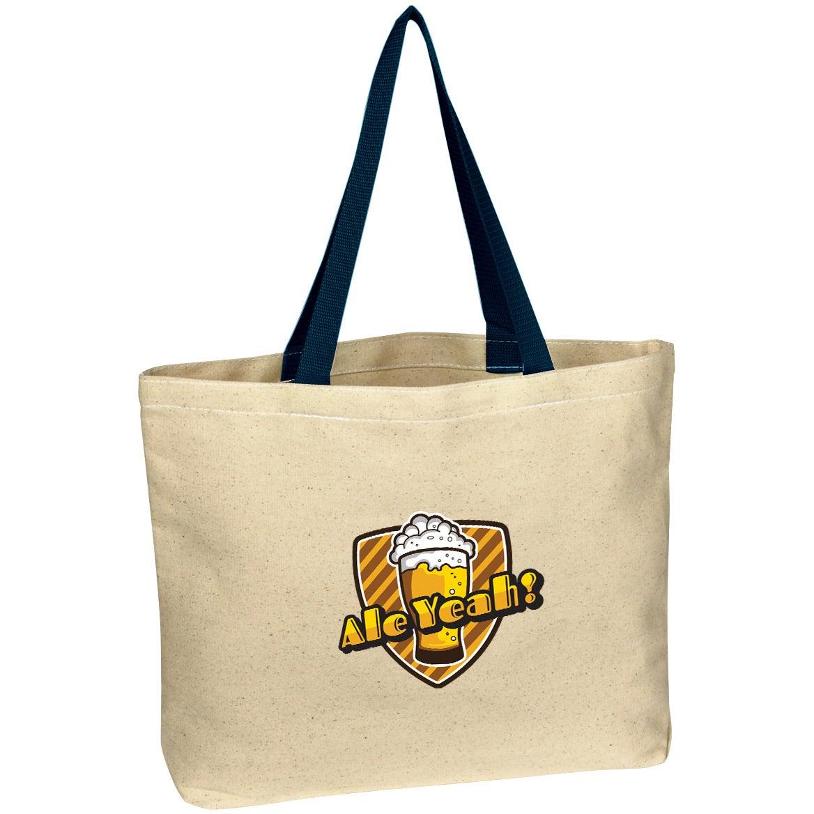 9141a1335c1 Natural Cotton Canvas Tote Bag