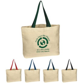 Natural Cotton Canvas Tote Bag Giveaways