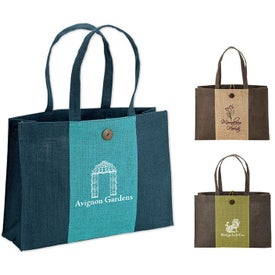 Charlotte Natural Jute Tote Bag