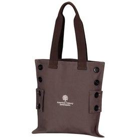 Natural Shoulder Tote Bag
