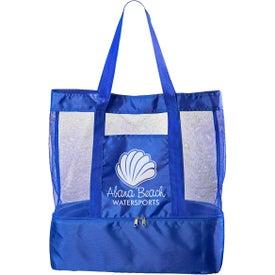 Nautical Insulated Beach Bag