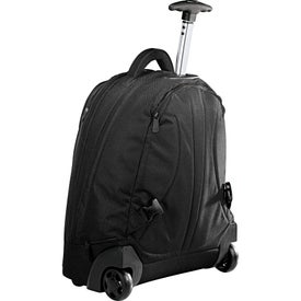 Navigation Deluxe Rolling Backpack for Promotion
