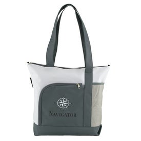 Navigator Shoulder Tote Imprinted with Your Logo