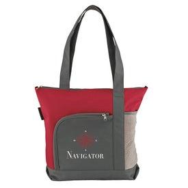 Custom Navigator Shoulder Tote