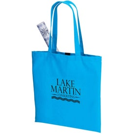 Negozio Colored Cotton Tote for Promotion