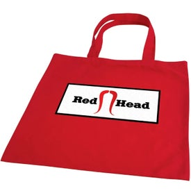 Negozio Colored Cotton Tote Imprinted with Your Logo