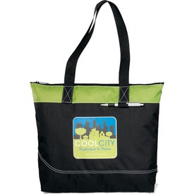 Network Zippered Tote