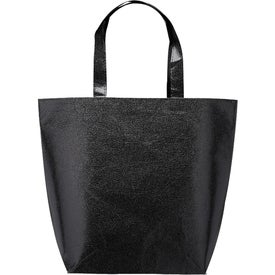New Castle Non-Woven Metallic Tote Bag