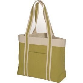 Printed Newport Tote - 10 Oz. Cotton