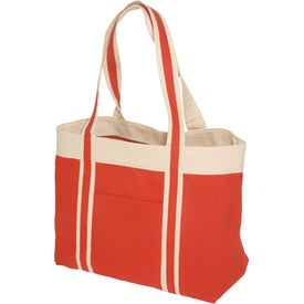 Newport Tote - 10 Oz. Cotton with Your Logo