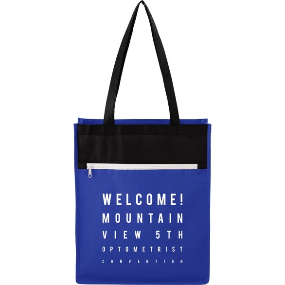 Royal Blue Nexus Budget Convention Tote