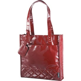 The Nicole Quilted Shopper Tote for Customization