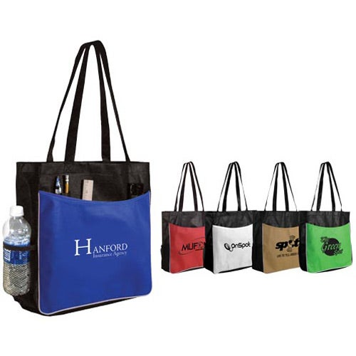 Promotional Non Woven Business Tote Bags with Custom Logo for ...