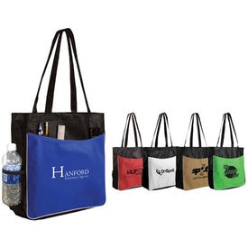 "Non Woven Business Tote Bag (13.5"" x 14"" x 4.5"")"