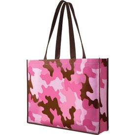 Advertising Non Woven Camo Tote Bag