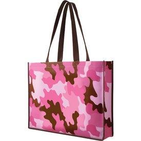 Advertising Non Woven Camo Tote Bag