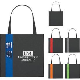 Monogrammed Non-Woven Colony Tote Bag