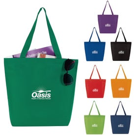 "Non-Woven Convention Tote Bag (15"" x 13.25"" x 4.375"")"