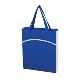 Non Woven Crescent Tote Bag for Customization