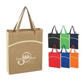 Non Woven Crescent Tote Bag