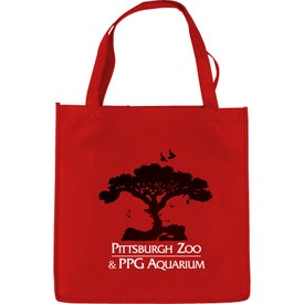 Non-Woven Economy Tote Imprinted with Your Logo