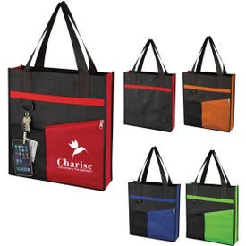 Non-Woven Fashionable Tote Bag