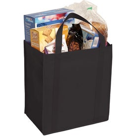 Non-Woven Grocery Tote Bag Imprinted with Your Logo