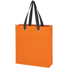 Non-Woven Grommet Totes Branded with Your Logo