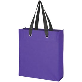 Imprinted Non-Woven Grommet Totes